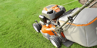 lawn mower grass
