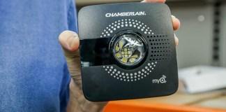 Chamberlain's MyQ Smart Garage Hub makes any garage door opener smart.