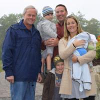 Danny Lipford and Bouchard family