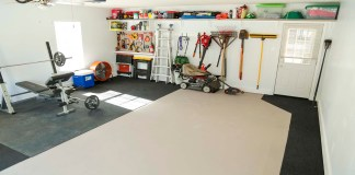 Everything has a place in this garage makeover