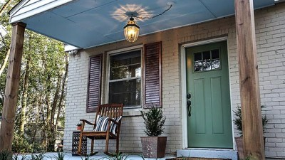 Curb appeal makeover, after