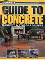 Quikrete Guide to Concrete book