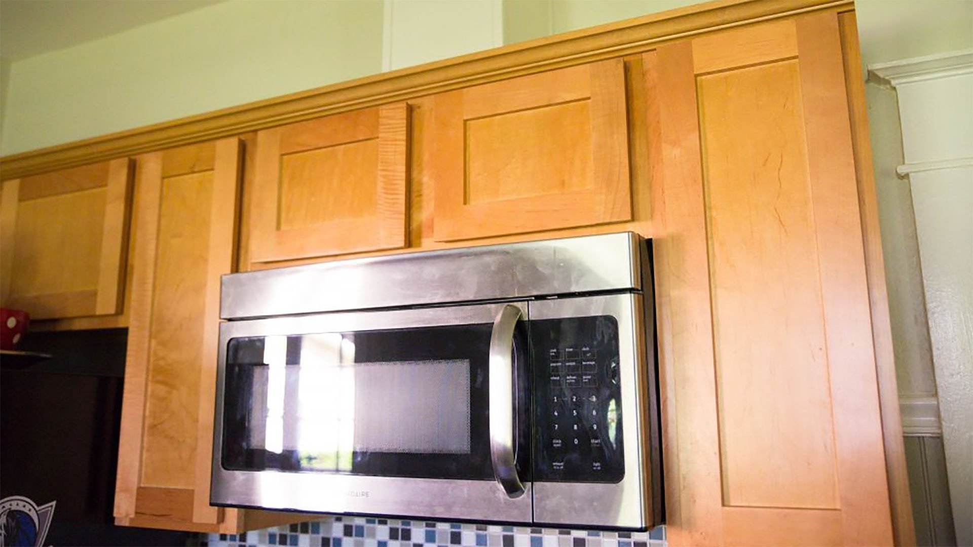 how to install a microwave with external venting
