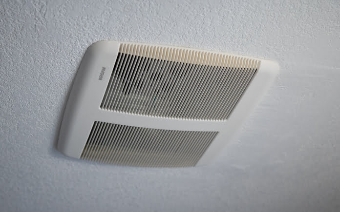 to clean a bathroom exhaust vent fan
