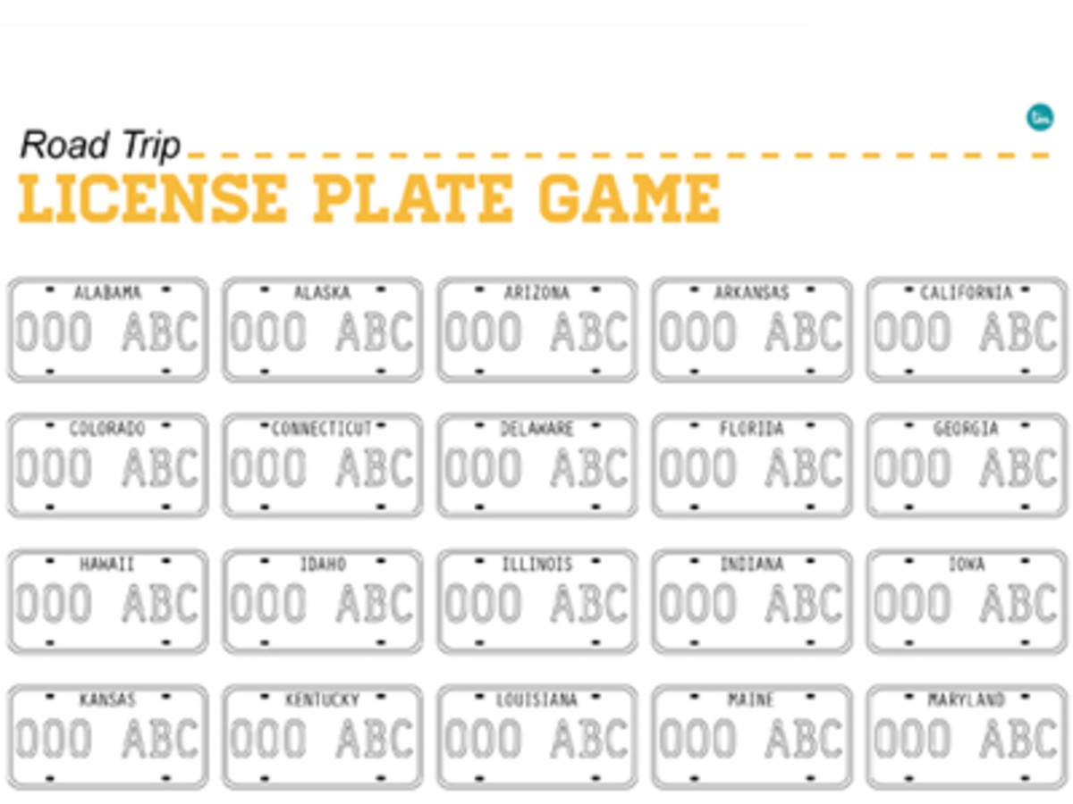 Printable License Plate That Are Ambitious