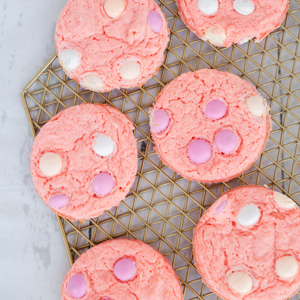 Strawberry Cheesecake Cake Mix Cookies With Pudding Todays Mama