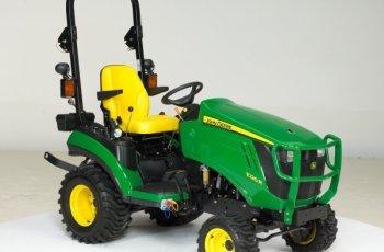 John Deere Launches New Line of Subcompact Tractors 2