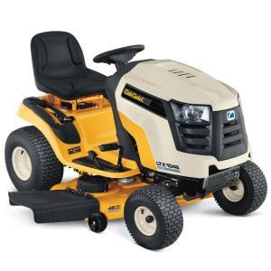 2011 Cub Cadet LTX 1045, LTX 1046 Riding Lawn Tractor Review 1