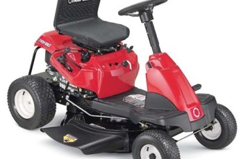 2012 Troy-Bilt 30 in, 11.5 hp, Shift-On-The-Go Riding Mower Review 10