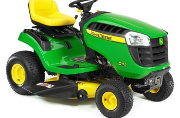 2012 John Deere 42 in 21 HP Hydro Model D120 Review 3