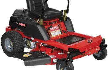 2012 Craftsman 42 in 24 hp Model 25001 Zero-Turn Review 4