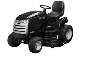 2012 52 in 26 hp Craftsman CTX 9500 Premium Model 25006 Garden Tractor Review 3