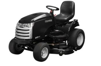 2012 52 in 26 hp Craftsman CTX 9500 Premium Model 25006 Garden Tractor Review 11