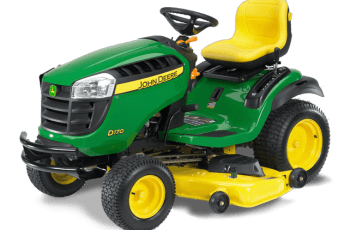2014 John Deere 54 inch Model D170 Lawn Tractor Review – Is this mower for you? 5