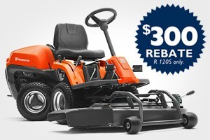 Husqvarna dealers want to offer you money saving coupons, rebates, giveaways, and special programs. 12