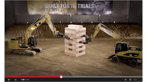 Just For Fun - Caterpillar'sv® giant Jenga goes viral 4