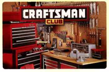 Craftsman Club is Changing - Please sign up again. 1