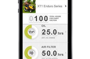 Cub Cadet Bluetooth app