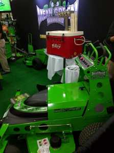 Mean Green Mowers lithium mowers.