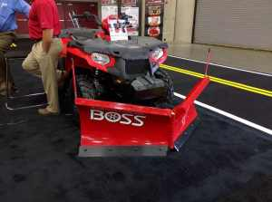 New BOSS ATV Plow