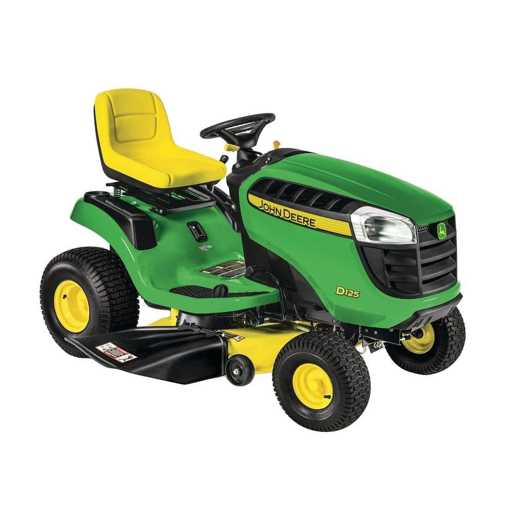 2017 John Deere D100 Series Lawn Tractors At The Home