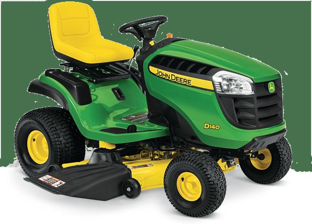 2017 John Deere D100 Series Lawn Tractors at The Home Depot