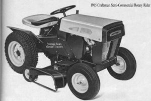 1965 Craftsman Rider