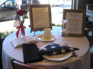 Honoring the Fallen and Missing With A Place At The Table 1