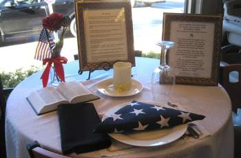 Honoring the Fallen and Missing With A Place At The Table 5