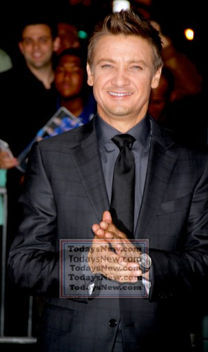 JEREMY RENNER at screening of ''Avengers:Age of Ultron'' at AVA Theatre w.23st 4-28-2015 John Barrett/Globe Photos 2015