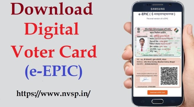 How to Download Digital Voter ID