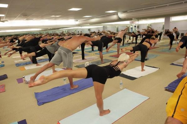 Sweated Bikram Yoga Today' Day