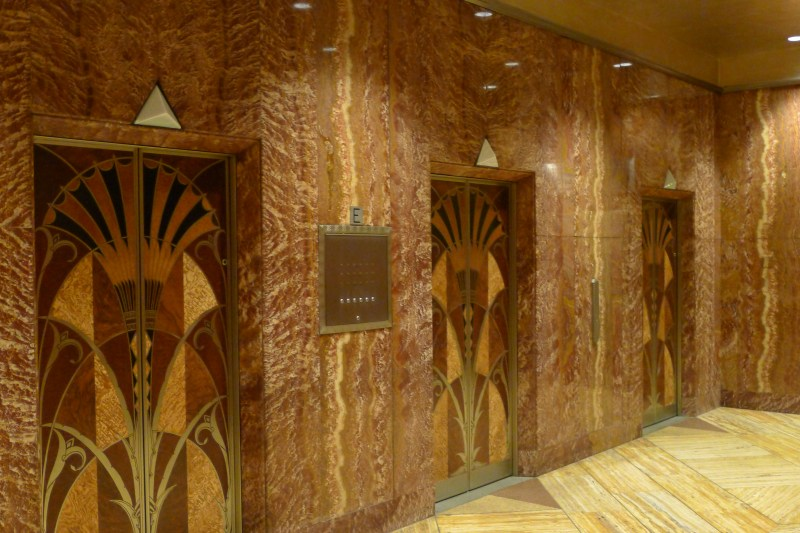 went inside the Chrysler Building  Todays the Day I