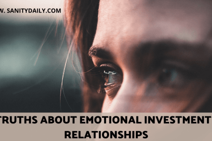 How Taxing Is Emotional Investment In Relationships?