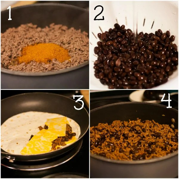 Beef-and-Black-Bean-Quesadillas-Instructions