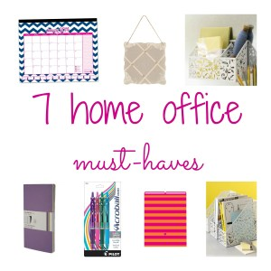 home office must-haves