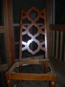 chair before