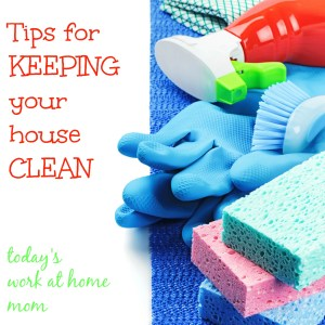Tips on how to keep your house clean