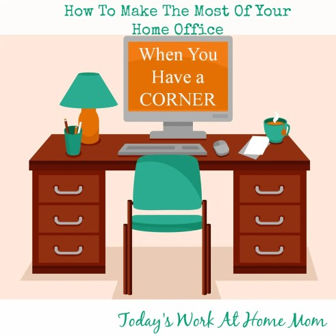 How to make the most of a home office when all you've got is a corner