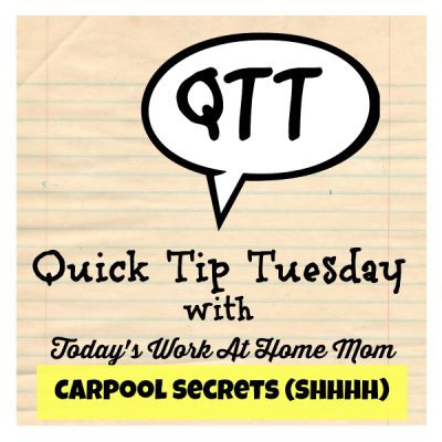 quick tip Tuesday: look like you've got it together (even when you don't)