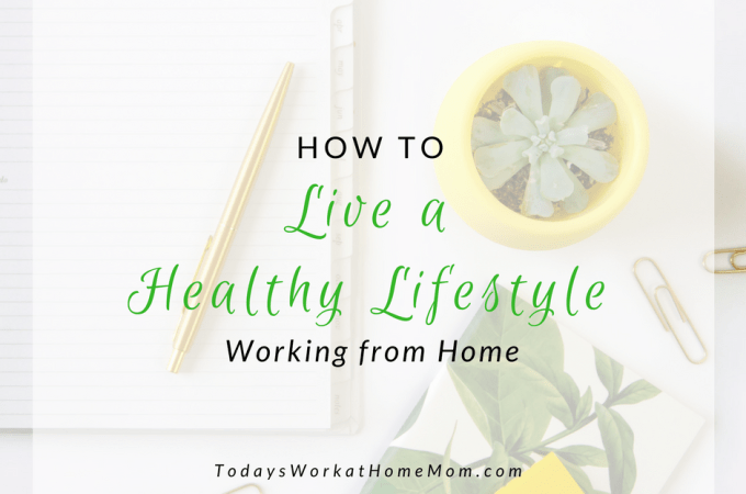 Living and working at home can be challenging for your health. Learn these helpful ways you can live a healthy lifestyle working from home.