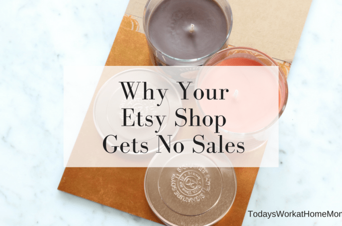 Have you started an Etsy shop and wondered why you got no sales? Learn about 4 main reasons why Etsy shops fail and how to avoid them.