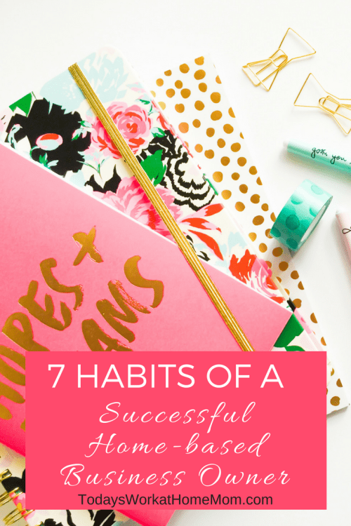 Do you ever wonder why some home-based businesses are successful while others barely make it? Discover 7 Habits ro creating your own work at home empire.