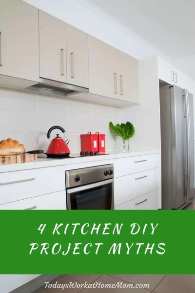 4 Kitchen DIY Project Myths