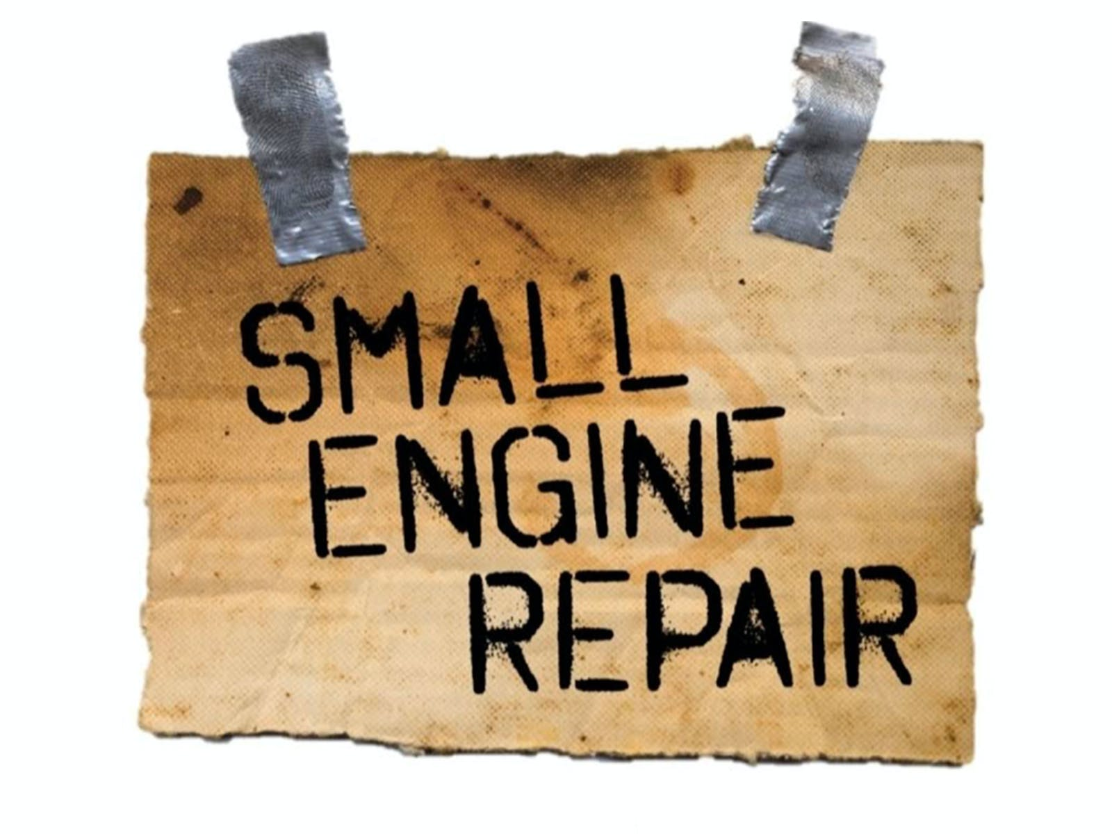 Small Engine Repair Tickets