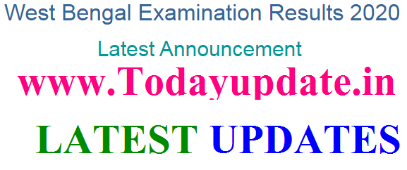 West Bengal Board Class 12th Result 2020. wbresults.nic.in West Bengal Board of Secondary Education WBBSE will release its Higher Secondary HS Exam class 12 result Today