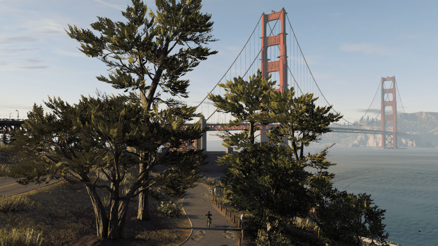 watch dogs 2 golden gate bridge