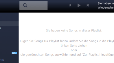 amazon music playlist erstellen