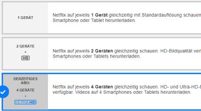 Netflix 2 Ger�Te Gleichzeitig