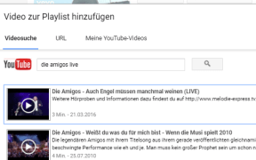 youtube playlist erstellen